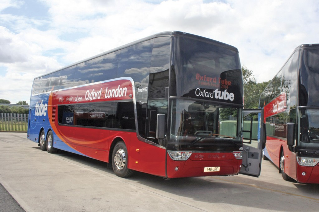 One of the fleets it supplies to regularly is Oxford Tube, which runs a fleet of Van Hool Astromegas