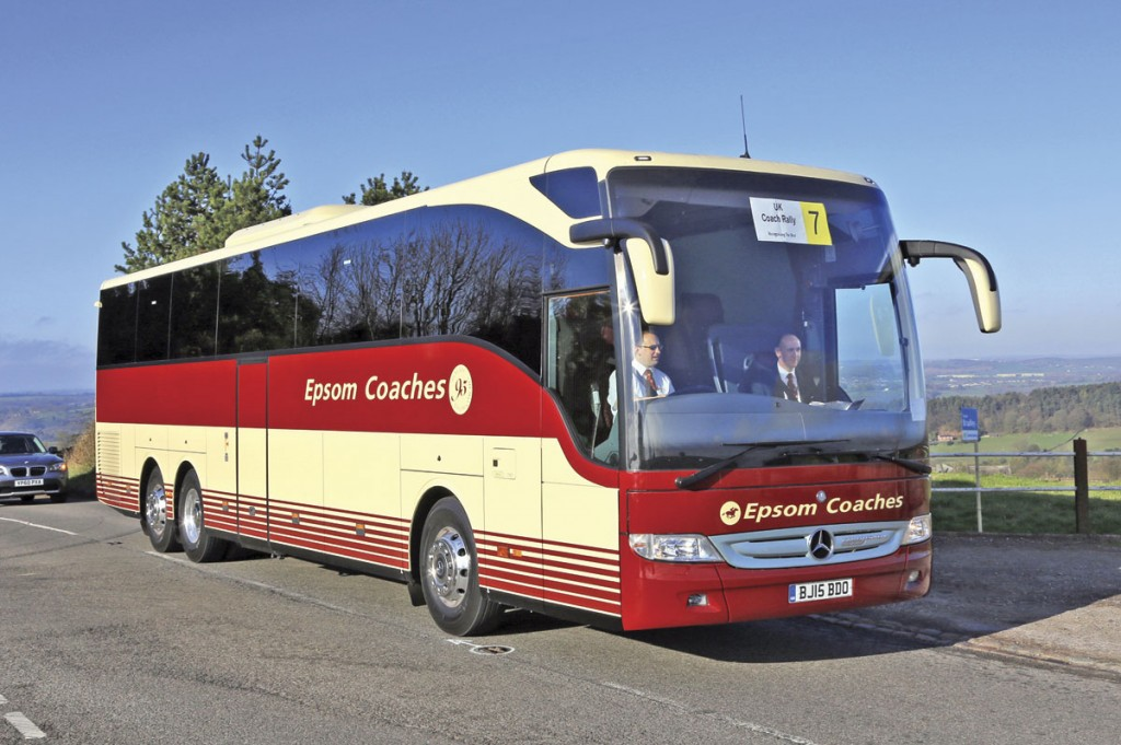 Sales of the Mercedes-Benz Tourismo coach family are booming at present