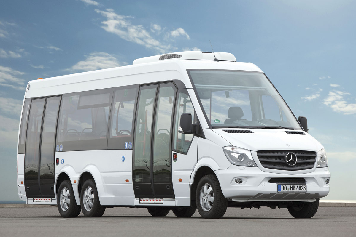 The Mercedes-Benz Sprinter City 77. We won't be getting it