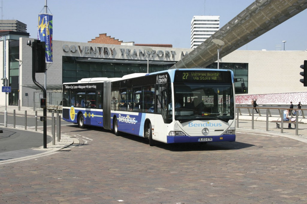 The articulated Citaro will be back in right hand drive form at some stage to serve niche markets