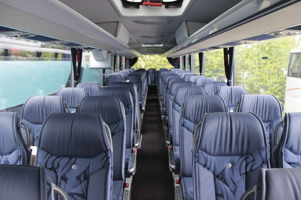 Uniquely in the UK and Ireland, operators can purchase all the same interior specification options that were previously offered in the Setra range in the Tourismo