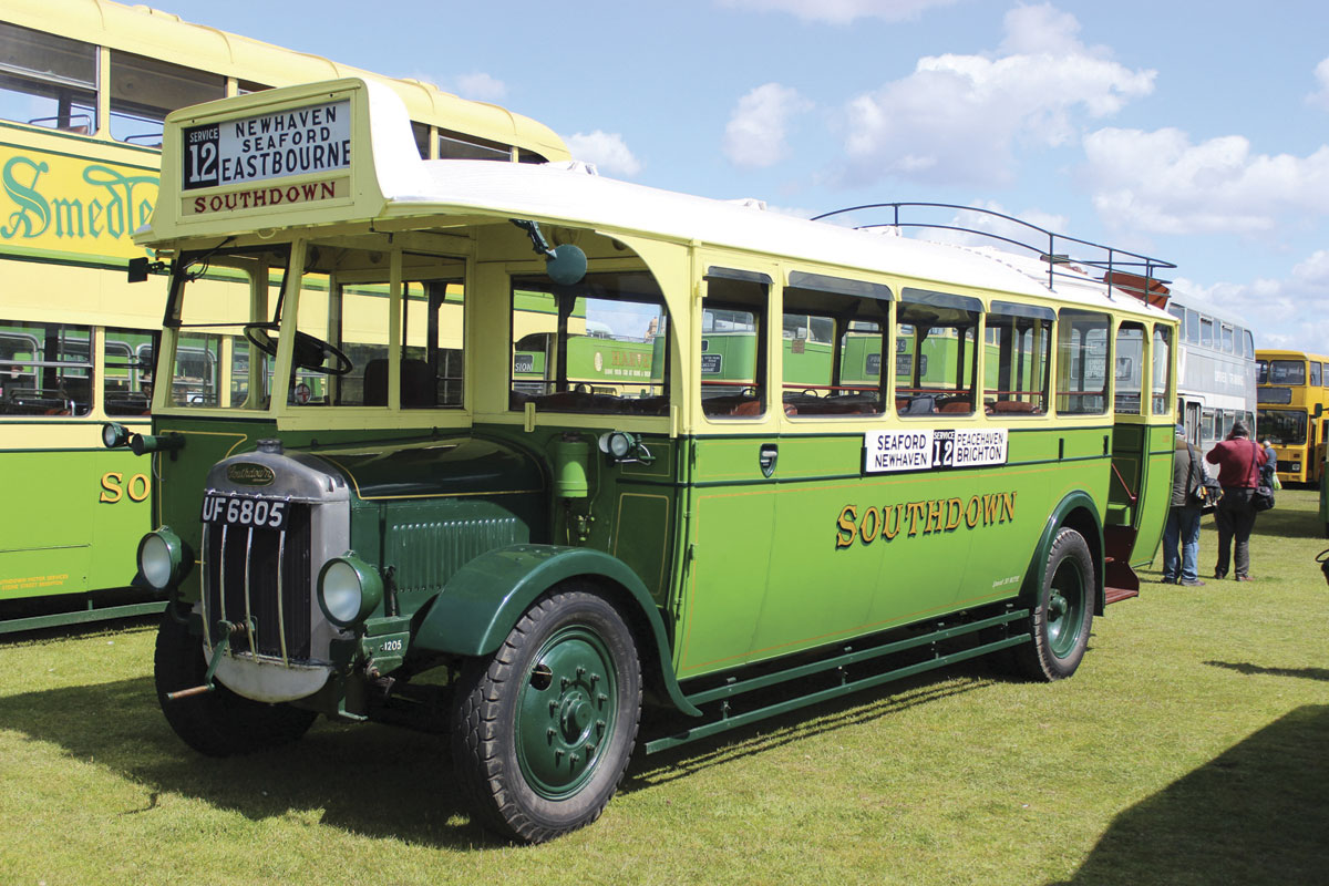 A 1930 Short bodied Tilling Stevens B10A2. It seats 31