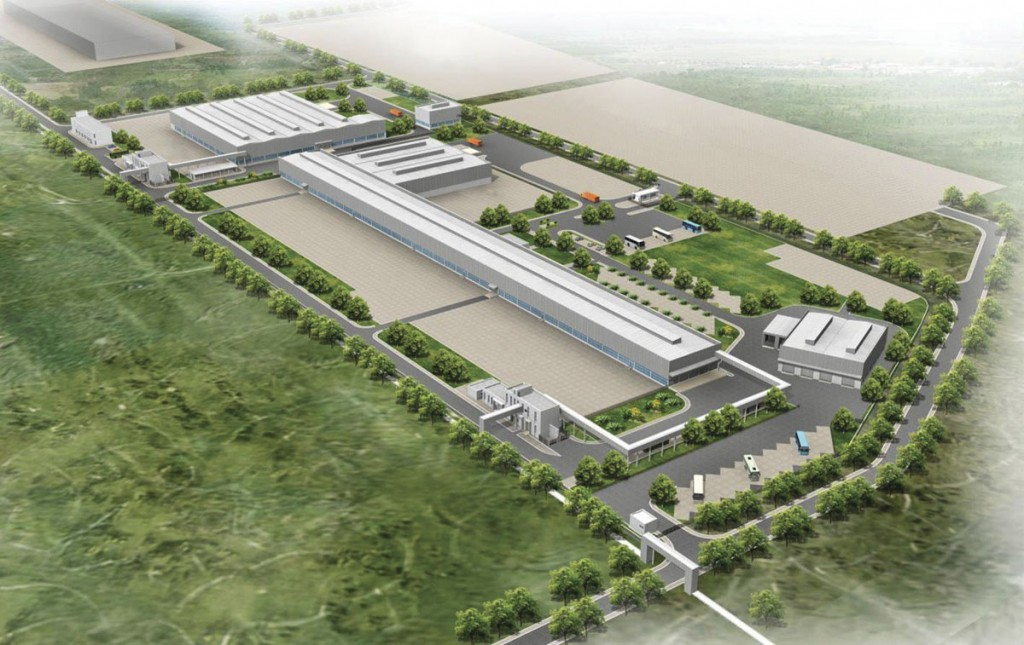 The massive Daimler site in Chennai where the new factory is located is the only plant within the global group that produces buses, trucks and engines for three separate brands: Mercedes-Benz, BharatBenz and Fuso.