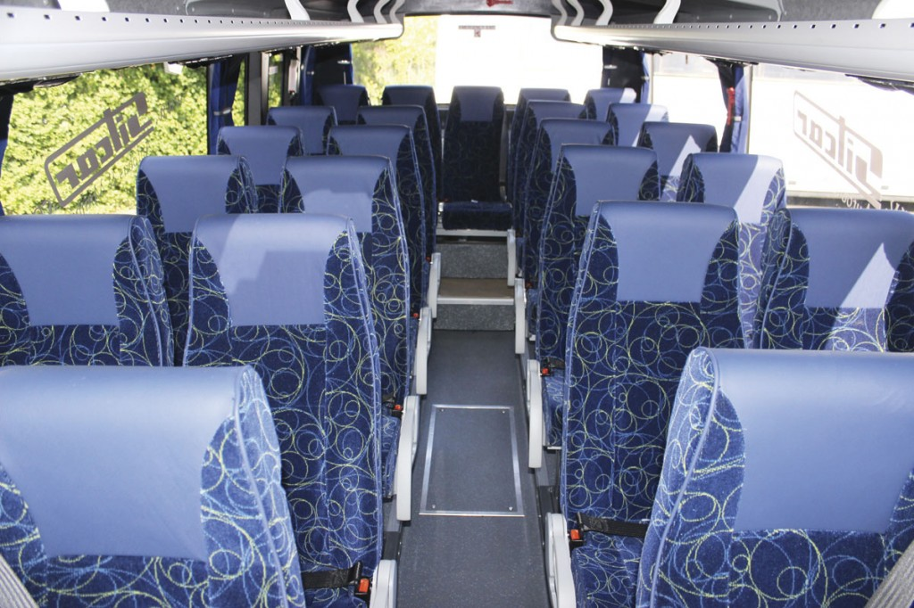 Lazzerini seats are standard rather than the Vogel units specified in the Beluga