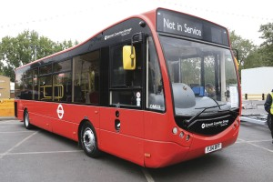 One of Quality Lines' 13 Optare Metrocitys