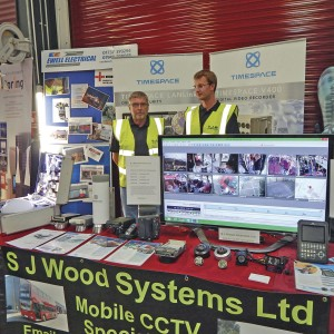 The S J Wood Systems stand