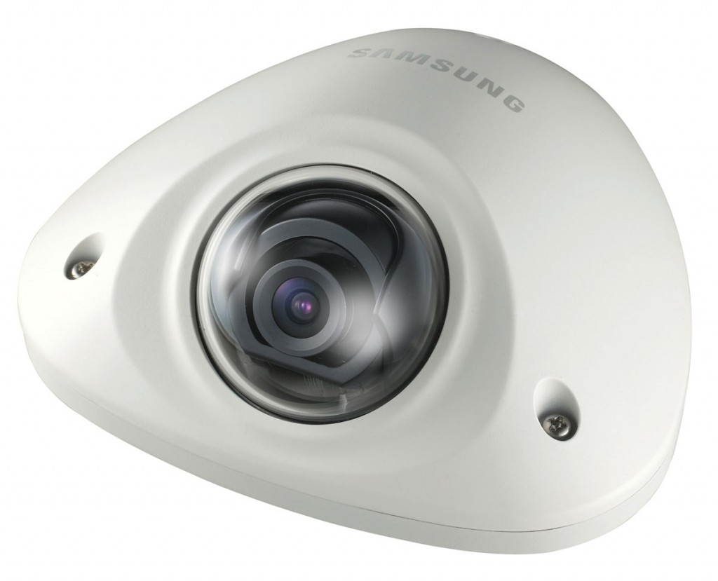 The Samsung SNV-6012Mfull HD dome camera