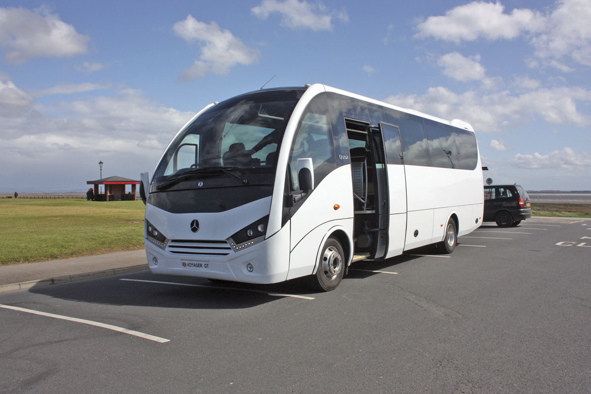 The Voyager GT is a very stylish vehicle with the clean lines and subtle curves that are a hallmark of Unvi designs