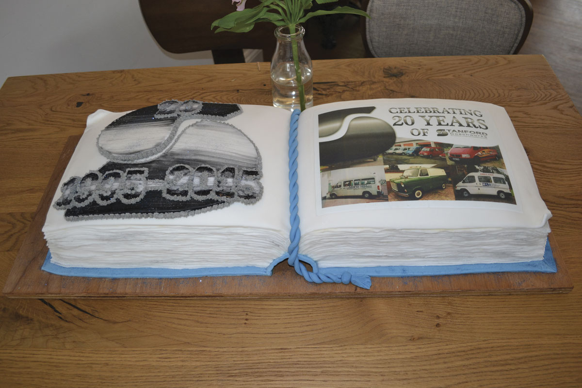 The celebratory cake. This was cut at a dinner reception for invited guests later in the evening