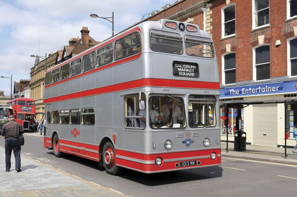 Wilts and Dorset acquired Silver Star in the 1960s shortly after that company had taken delivery of a number of Leyland Atlanteans, one of which has survived into preservation