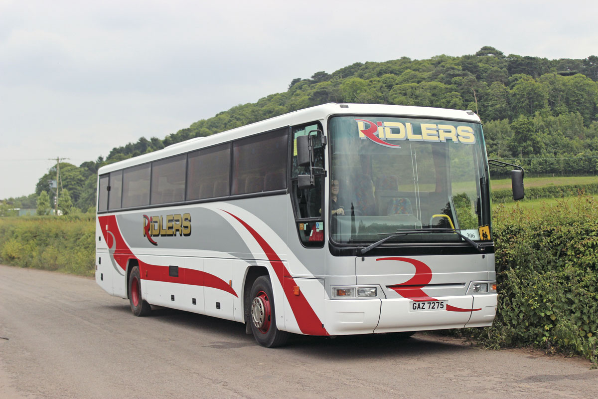 Dennis Javelins such as this 1997 Plaxton Premiere form the backbone of the school contract fleet
