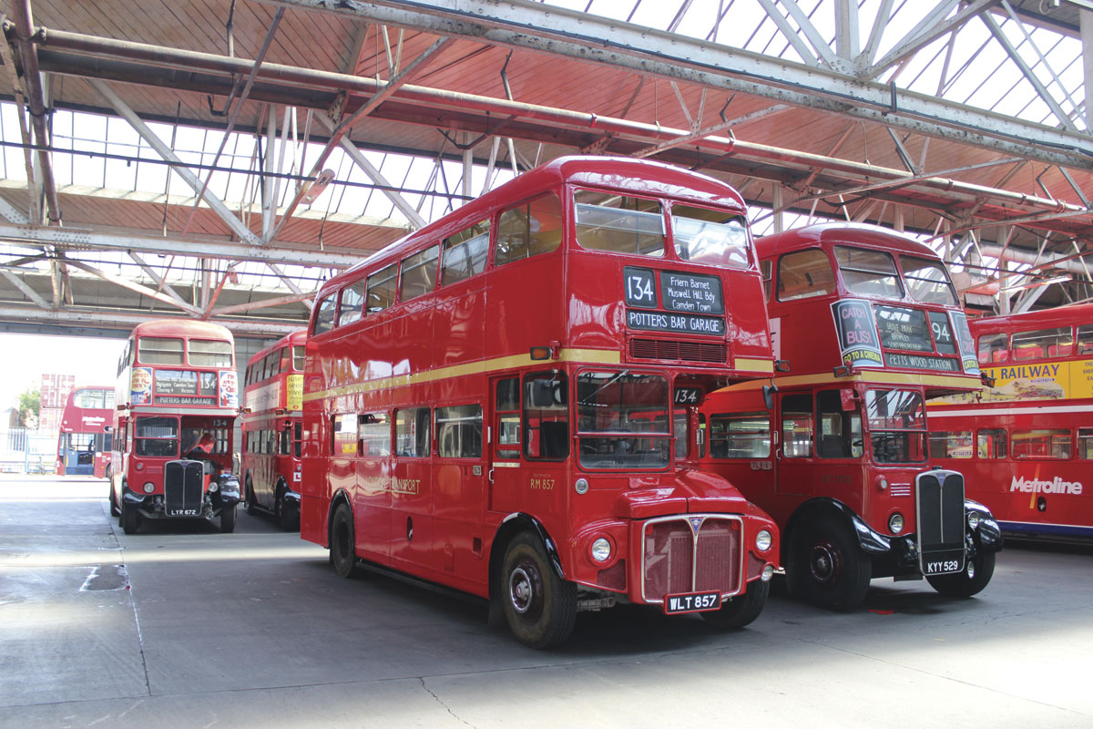 From their introduction at Potters Bar in 1947, RTs were to dominate the fleet there for the next two decades or so, assisted by Routemasters from 1964