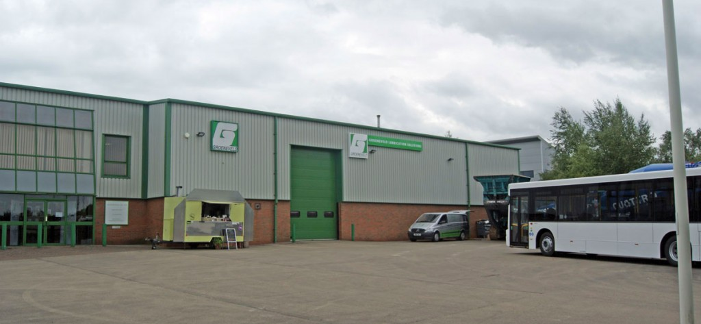 Groeneveld's UK base of operations in Shepshed.