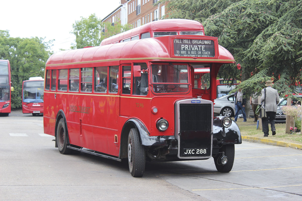 Introduced in 1948 and bodied as 30 seaters by Mann Egerton, was the TD class of Leyland Tigers PS1s with 7.4-litre engines and crash gearboxes