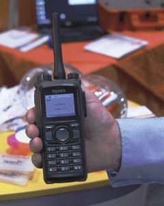 One of Zycomm's two way radios
