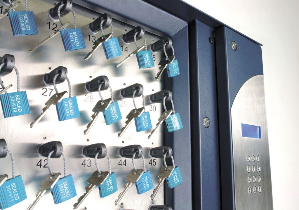 The Keytracker key management system