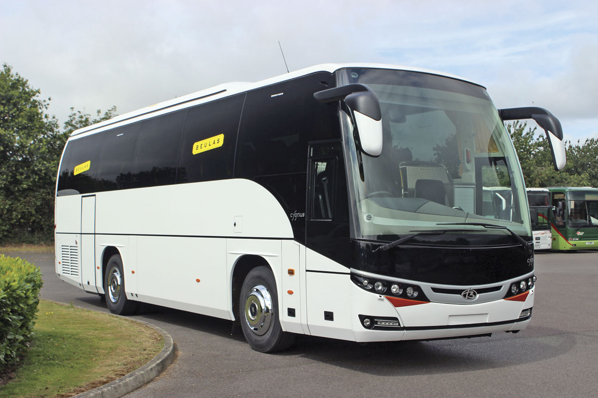 The first Cygnus imported is a 10.8m coach with 40 seats and a rear saloon toilet but a 12m version will also be available -image 1