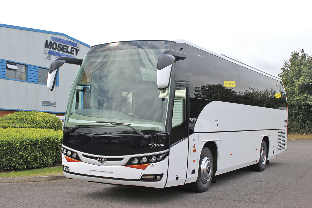 The first Cygnus imported is a 10.8m coach with 40 seats and a rear saloon toilet but a 12m version will also be available -image 2