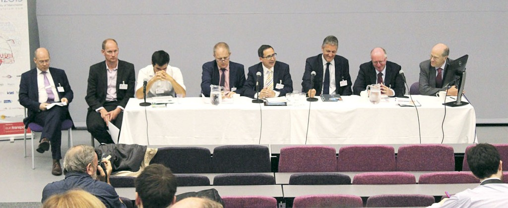 The panel for the closing debate on re-regulation.