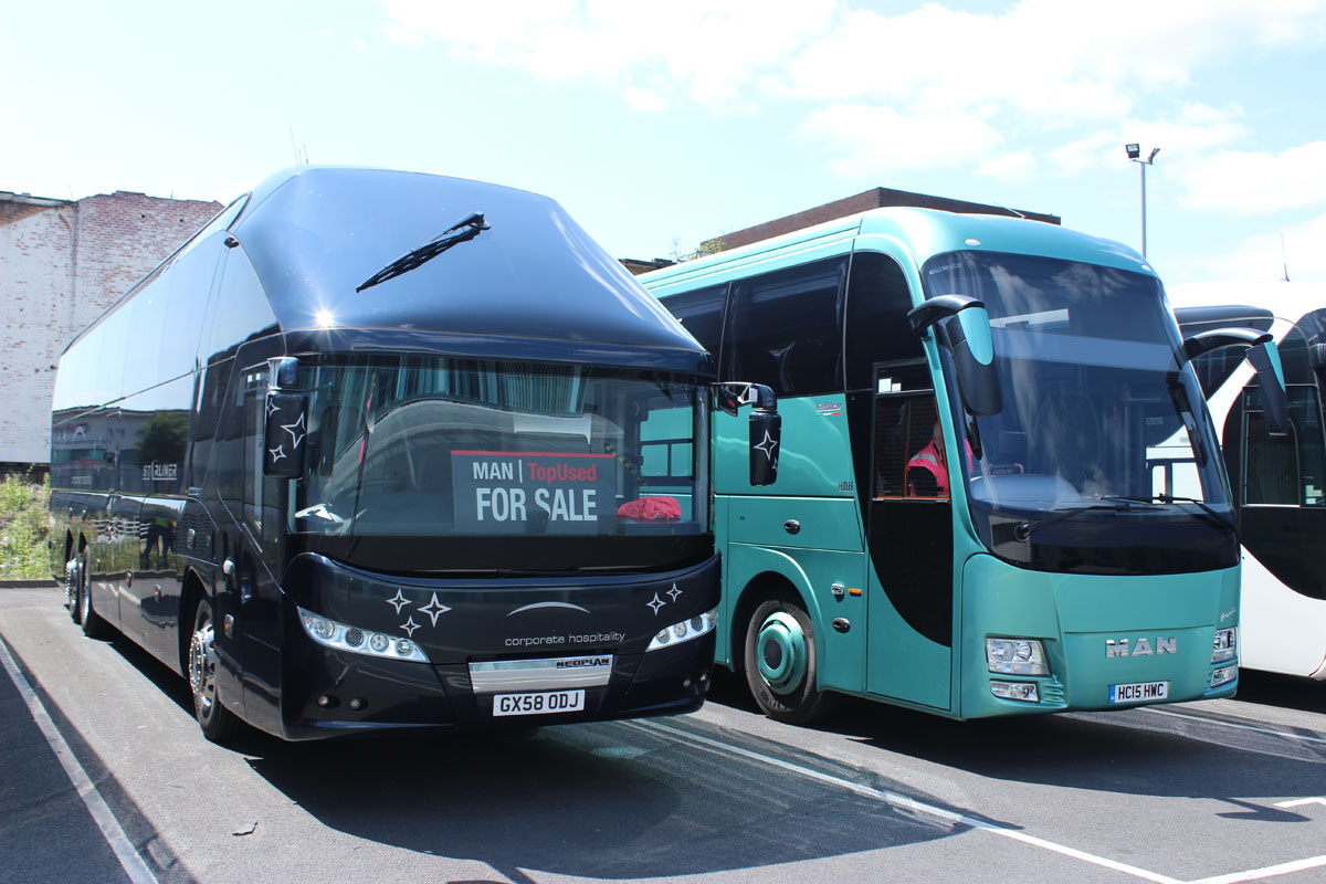 With the discontinuation of the Neoplan Starliner and the Setra range in the UK, BASE sees scope for the Barbi at the top of the market
