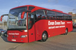 Redwing are the sole coach provider for Evan Evans tours. This Tourismo, the latest edition to their fleet was taken at Leeds Castle.