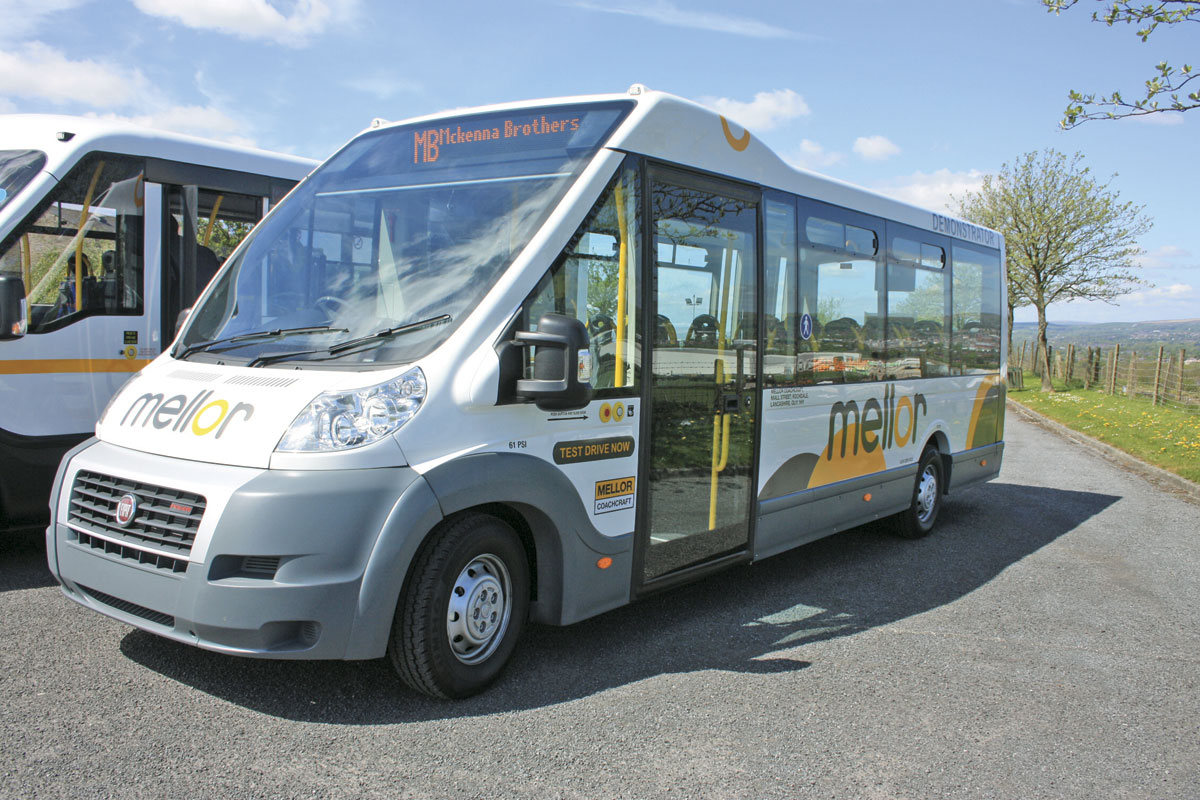 The Mellor Orion Service Bus is directly accessible to wheelchair passengers and could be the saviour of vulnerable bus services