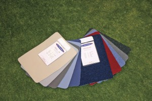 A selection of AT Industries' interior refurbishment fabrics