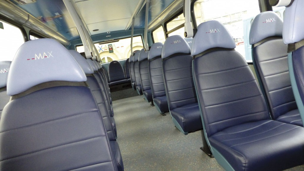 E-Leather on Arriva's Max branded service