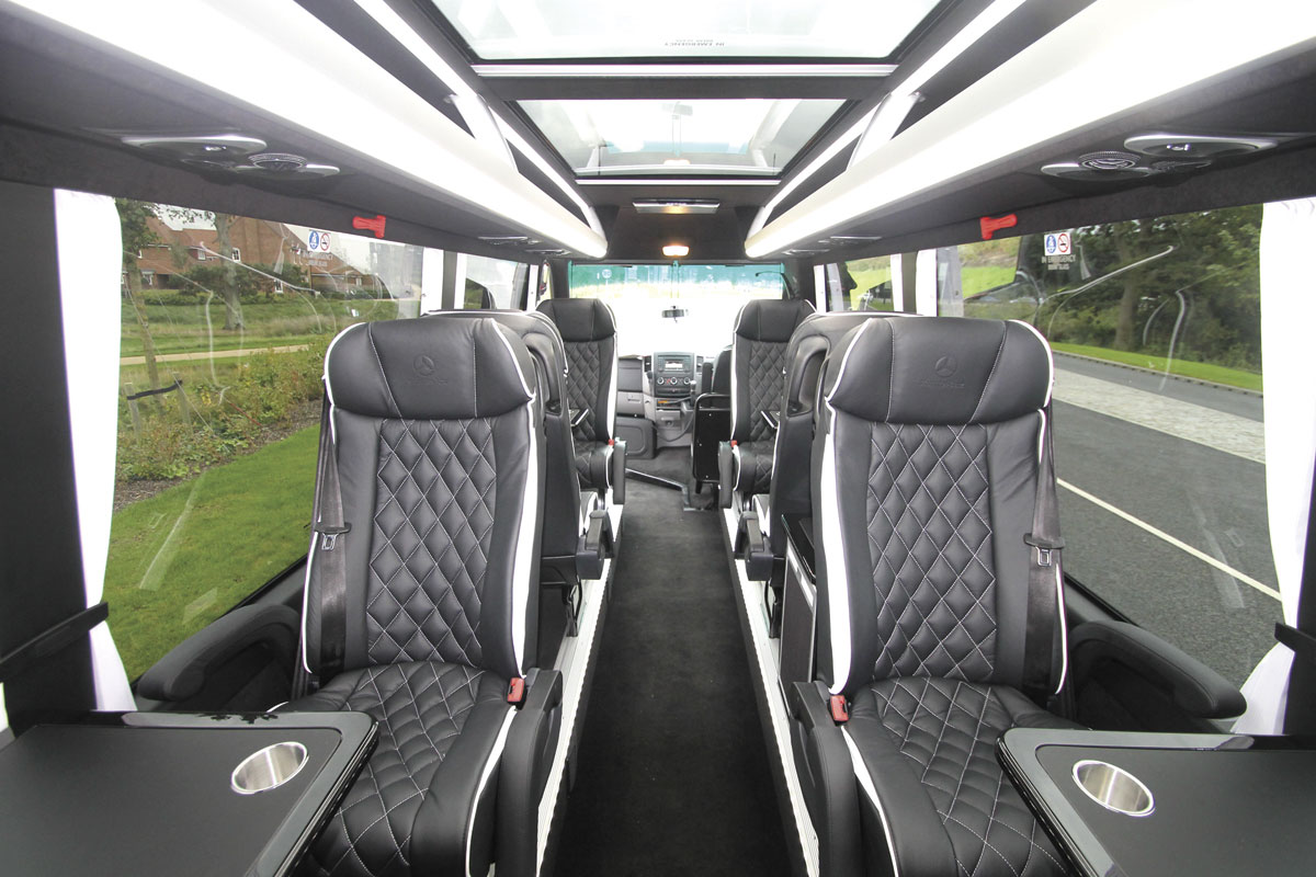 EVM's X-Clusive eight seat Sprinter