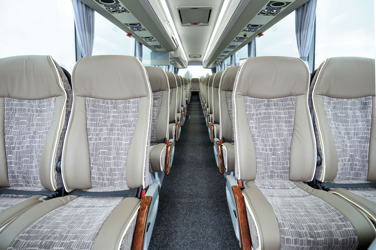 The new Van Hool EX - interior