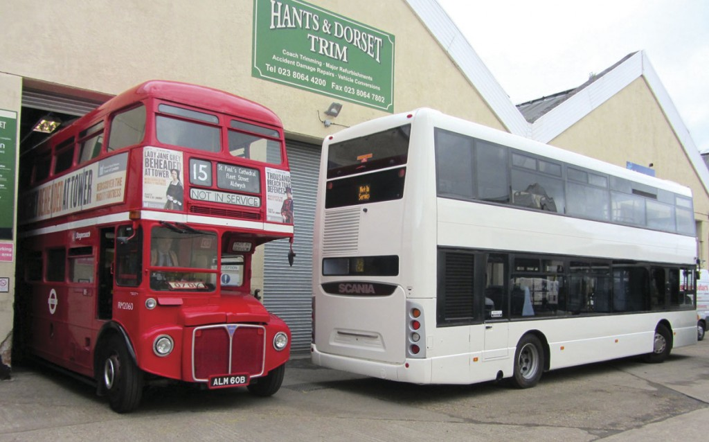 Hants & Dorset Trim recently refurbished this Routemaster