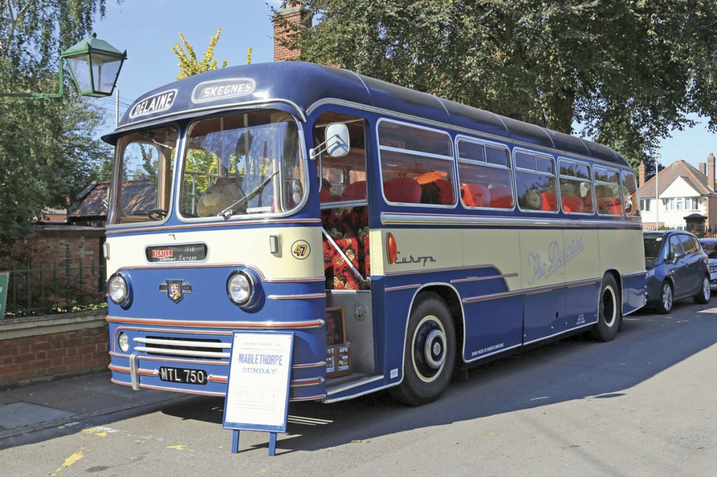 Leicester Museum's Yeates bodied Leyland Tiger Cub