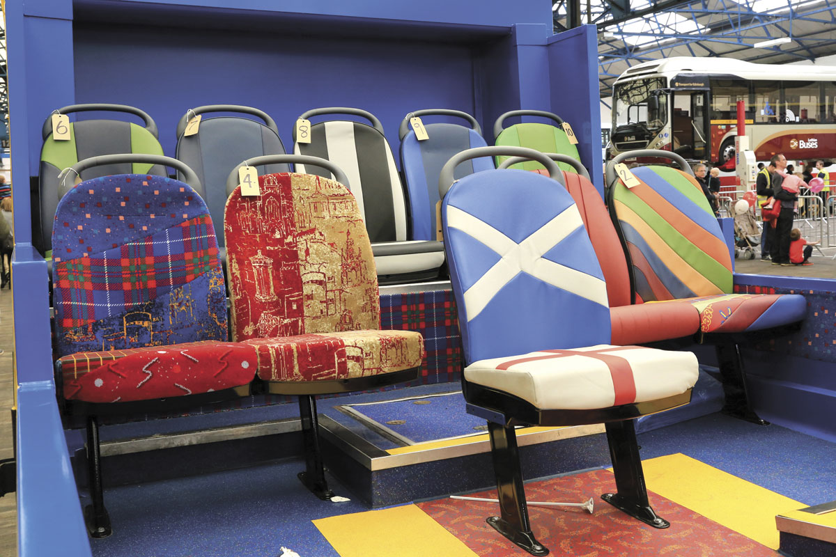 Lothian Buses Dart cabrio with exclusive seats for sale