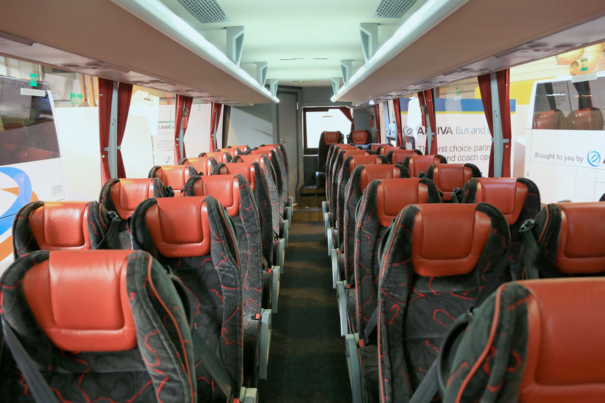 Temsa MD9 from Arriva Bus and Coach (Interior).
