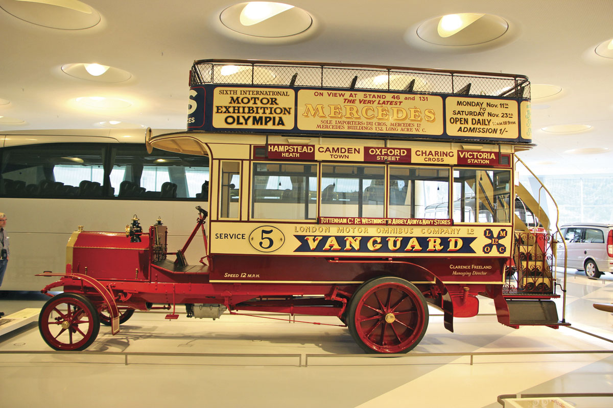 The 1907 Milnes Daimler provides a London connection