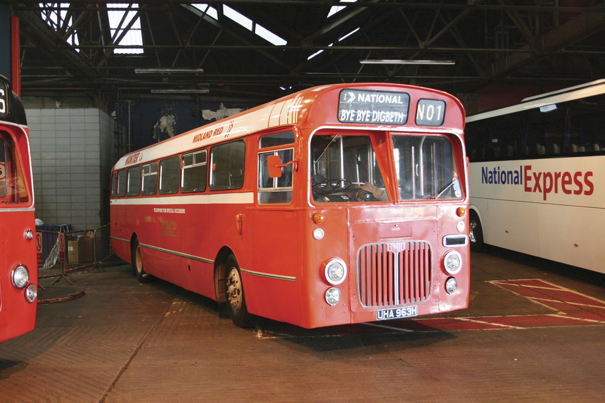 The BMMO S23 participated in the closing festivities of the original Digbeth Coach Station