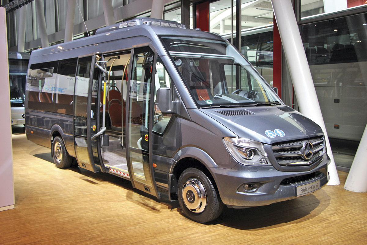 The low floor Sprinter City 65
