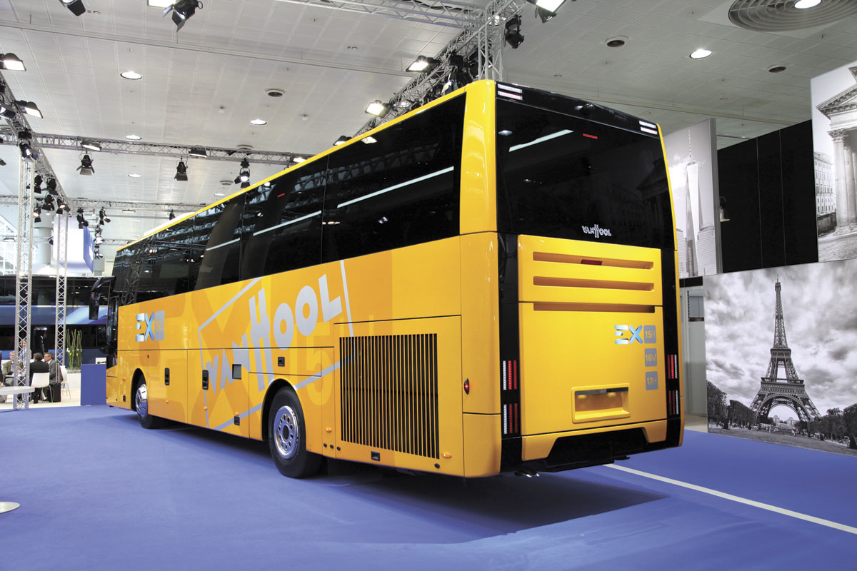 The new Van Hool EX - rear