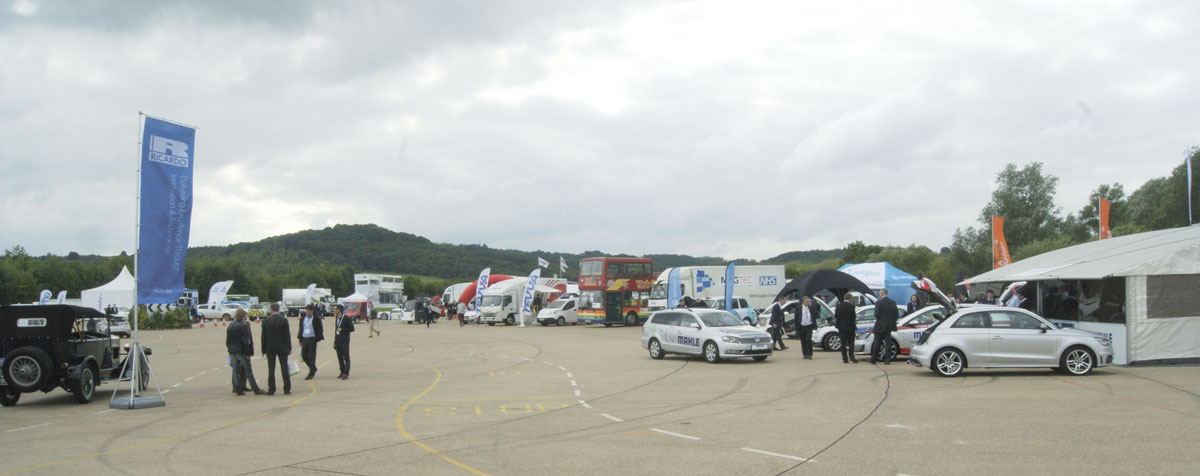 The outside section of LCV Cenex 2015