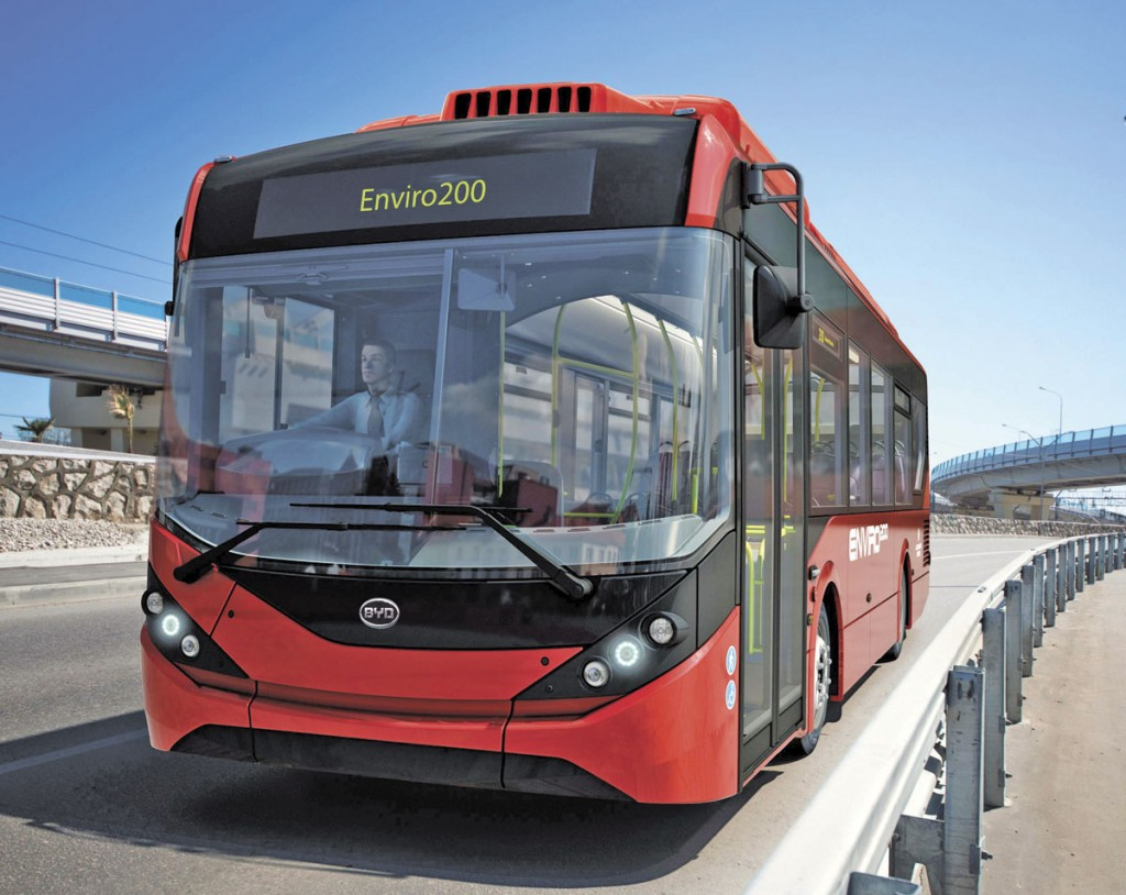ADL and BYD's initial collaboration will deliver 51 single deck electric buses based on the Enviro200 MMC body structure to Go-Ahead London.