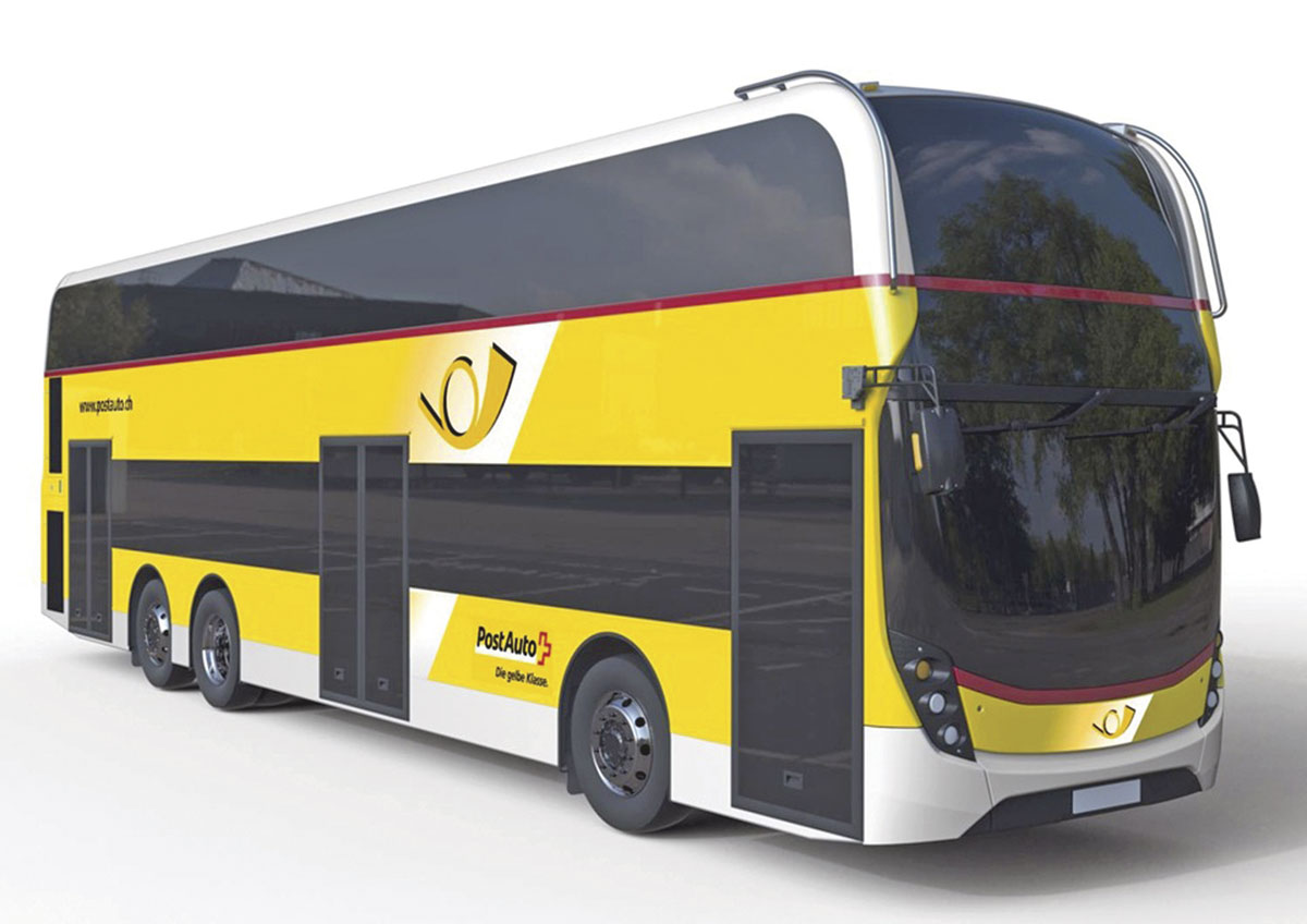 ADL has a Letter of Intent in respect of 19 Enviro 500s for PostAuto in Switzerland