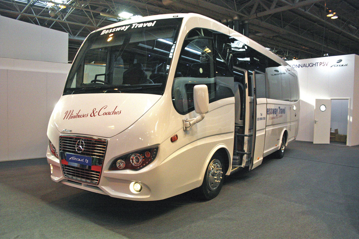 Connaught's Ferqui built F5 mid range contender is already proving popular. This example is for Bessway Travel.