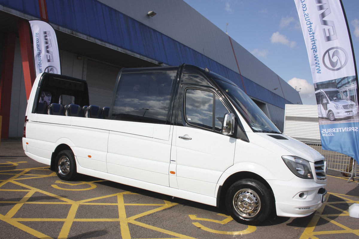 EVM's new Sprinter based Cabrio proved a real head turner and has already resulted in orders.