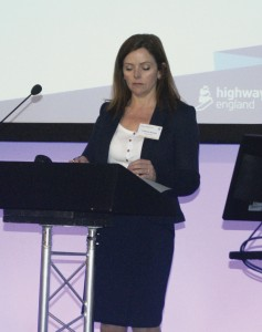 East Divisional Director, Highways England, Catherine Brookes.