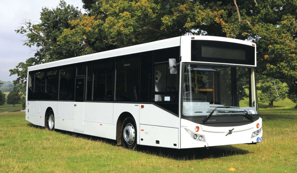 Volvo is offering the B8RLE MCV Evolution with 44 belted seats from stock.