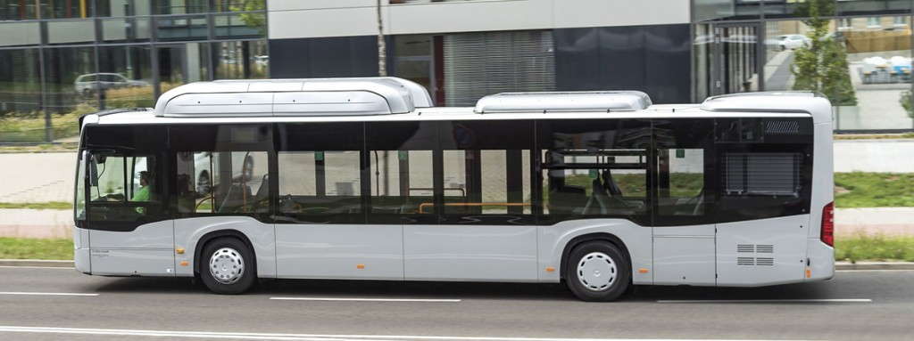 Mercedes-Benz will launch the Citaro NGT gas fuelled bus.