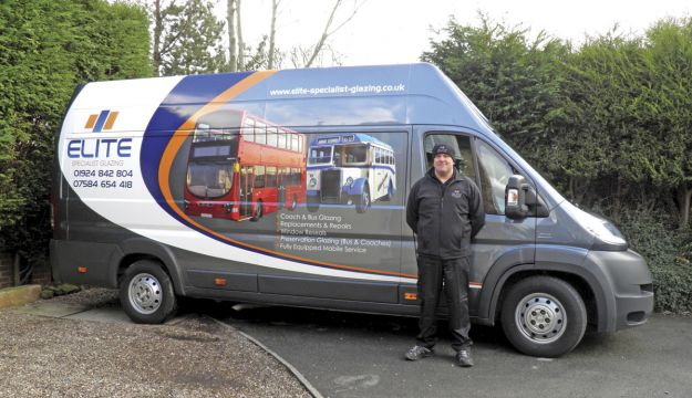 Steve Plant from Elite Specialist Glazing.