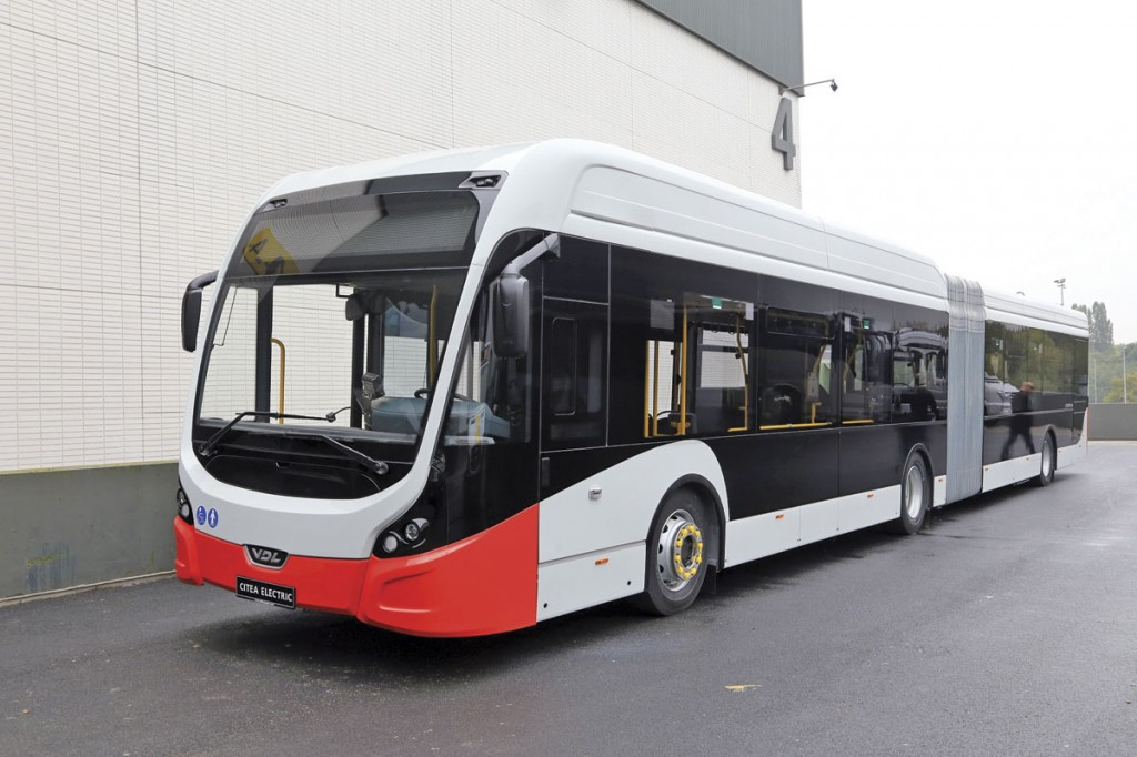 The VDL Citea artic