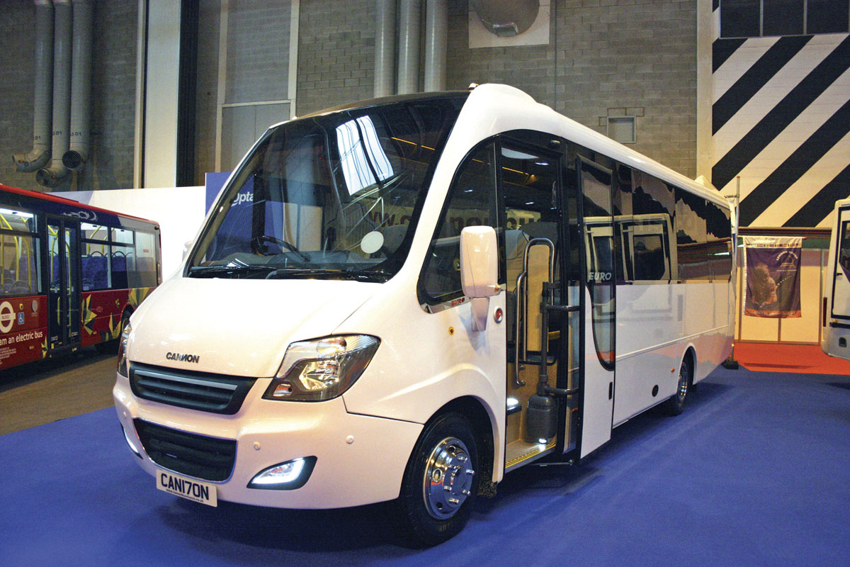 0404f25ebc The new 9.5 tonne Cannon Eurocoach Softline Variant can seat up to 33  passengers. It is a new venture by Cannon of Northern Ireland and the  former Euro ...
