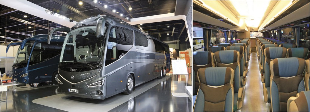 The new Irizar i8.